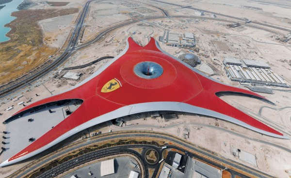 abu dhabi ferrari world @lemonicks.com