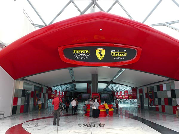 Ferrari world Abu Dhabi lemonicks.com
