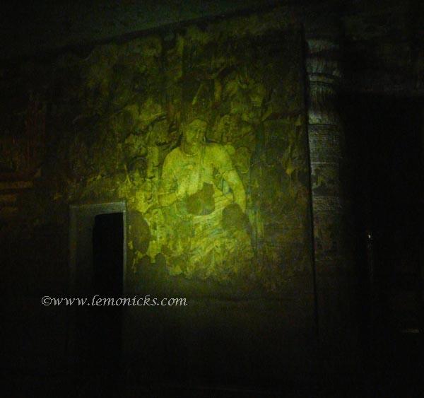 Ajanta painting @lemonicks.com