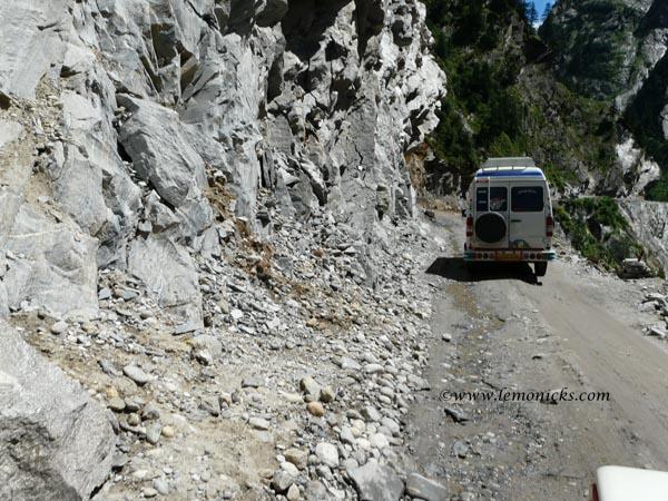 landslide badrinath Himalayan danger zone @lemonicks.com