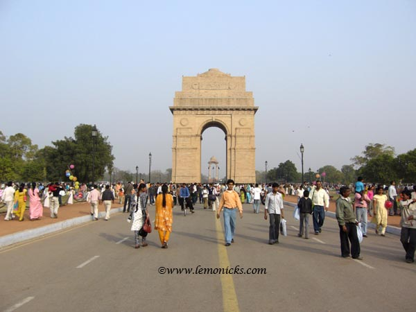 India gate delhi @lemonicks.com