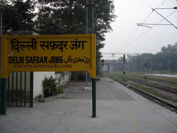 safdarjung station delhi @lemonicks.com