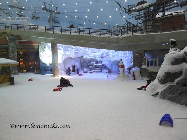 skiing in shopping mall dubai  @lemonicks.com