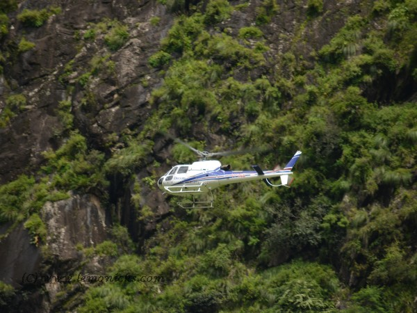 helicopter to ghangaria @lemonicks.com