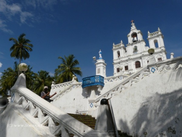 st Mary church goa @lemonicks.com