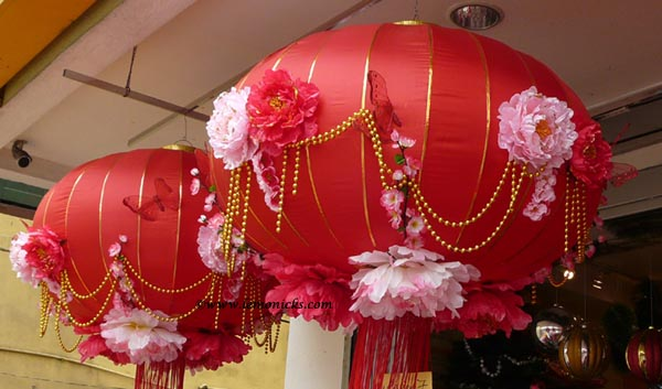 chinese new year lantern @lemonicks.com