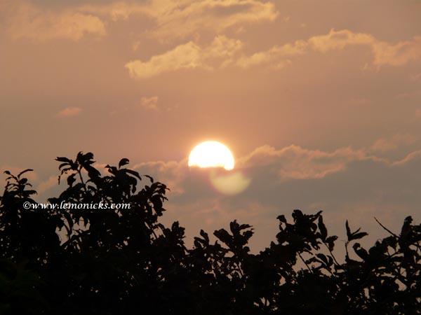 Lavasa sunrise @lemonicks.com