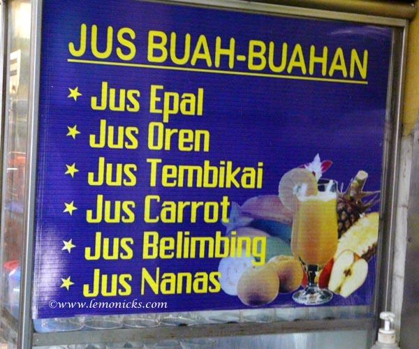 jus Buah @lemonicks.com/Travel