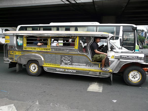 jeepney in Philippines @lemonicks.com