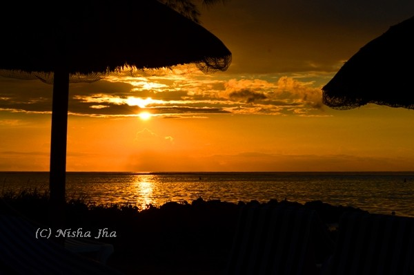 Mauritius sunset @lemonicks.com