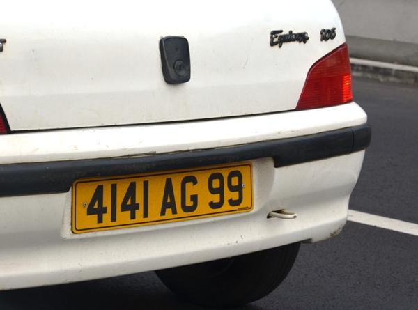 Mauritius car @lemonicks.com