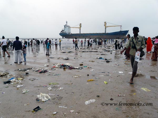 ship at Juhu beach @lemonicks.com
