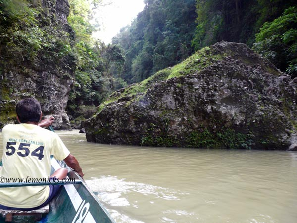 rowing to Pagsanjan @lemonicks.com