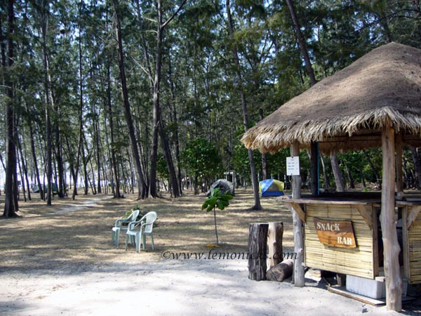 camping in bamboo island @lemonicks.com