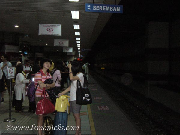 ladies coach Malaysian trains KTM Komuter @lemonicks.com