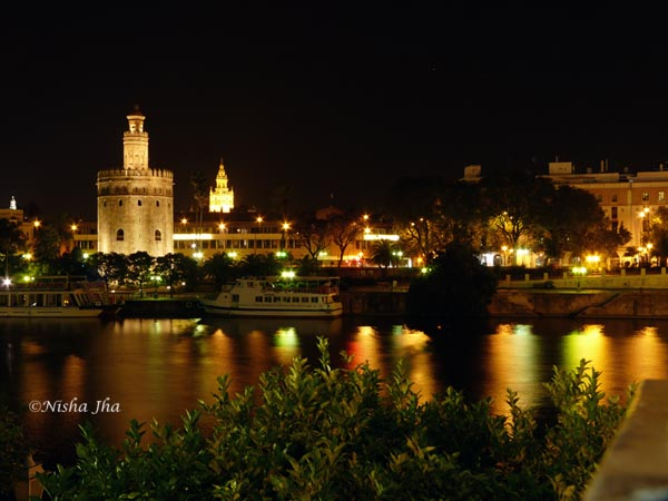 Seville at night lemonicks.com