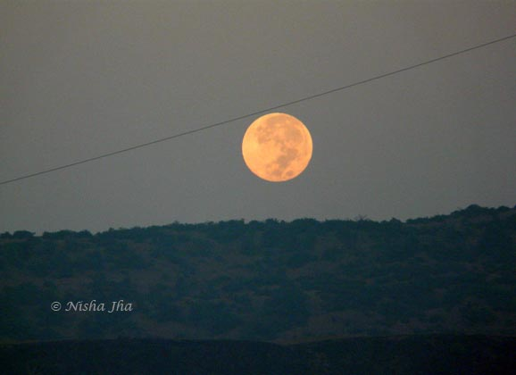 Full moon setting @lemonicks.com