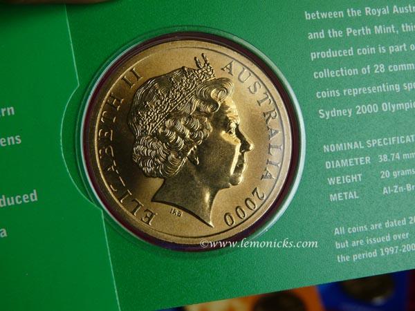 Olympic coins @lemonicks.com