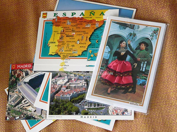 postcard from spain @lemonicks.com