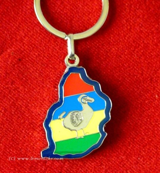Mauritius key ring souvenir @lemonicks.com