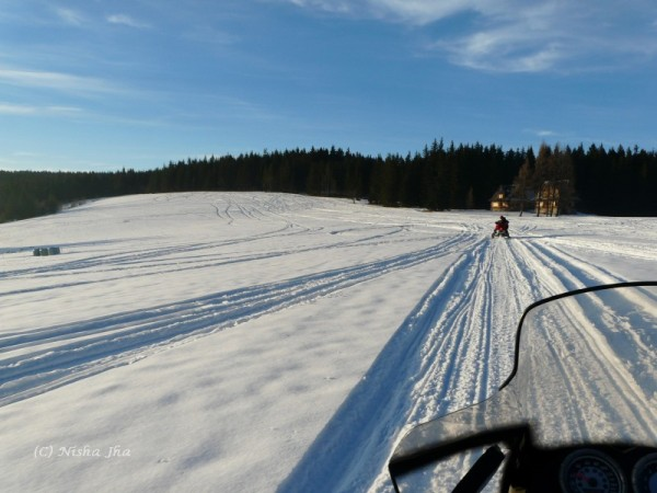 snow mobile in zakopane @lemonicks.com