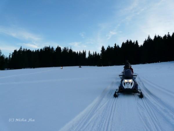 snow mobile in zakopane @lemonicks.com