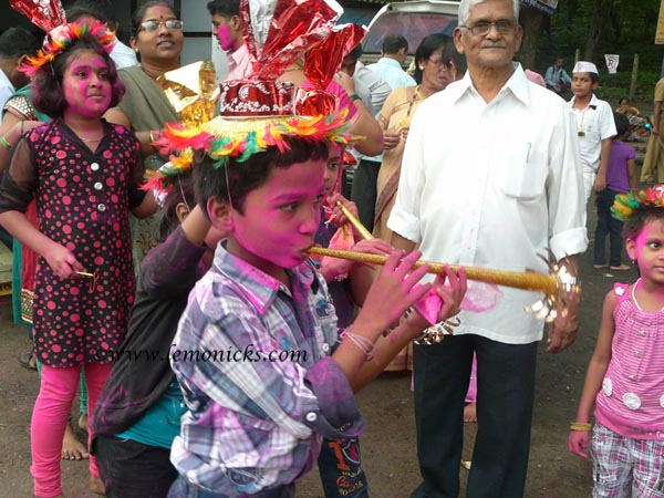ganapati celebration @lemonicks.com