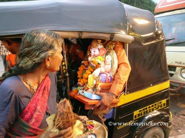 ganapati visarjan @lemonicks.com