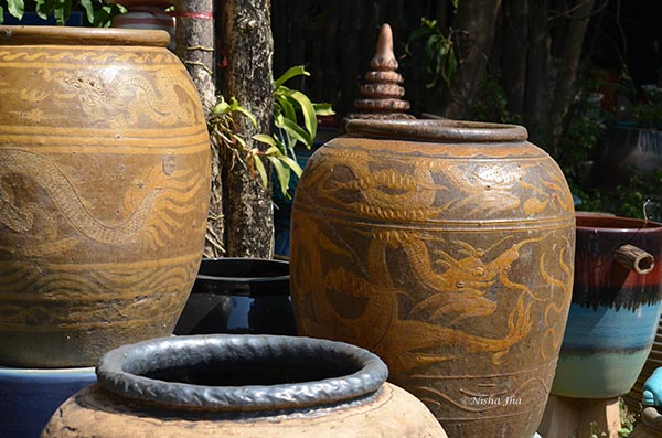 Ratchaburi dragon water jar ceramic factory