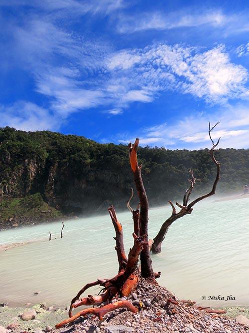 06 Kawah Putih white crater indonesia