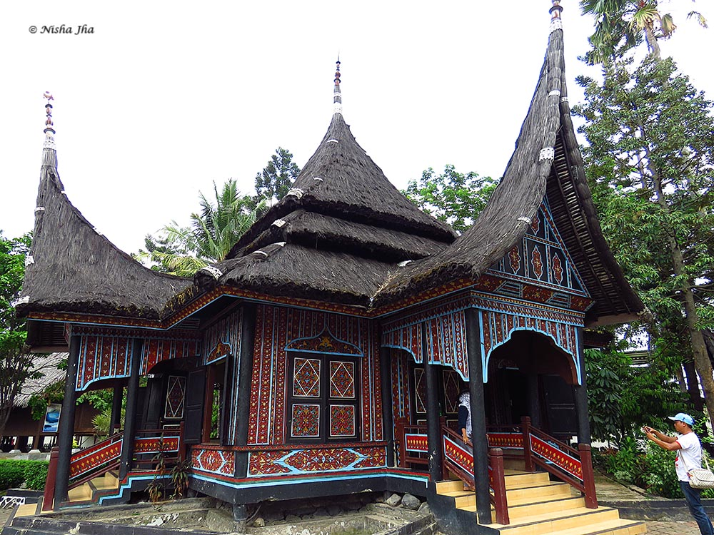 Miniature Indonesia where essence of culture of each province of Indonesia is shown.