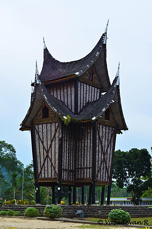 Minangkabau Rice Barn