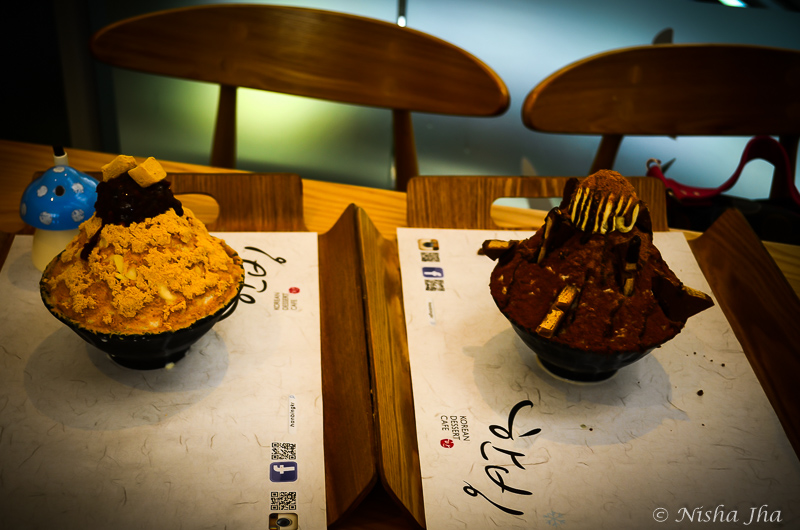 Harbour City, Ice cream Desserts from Hanbing , a korean deli