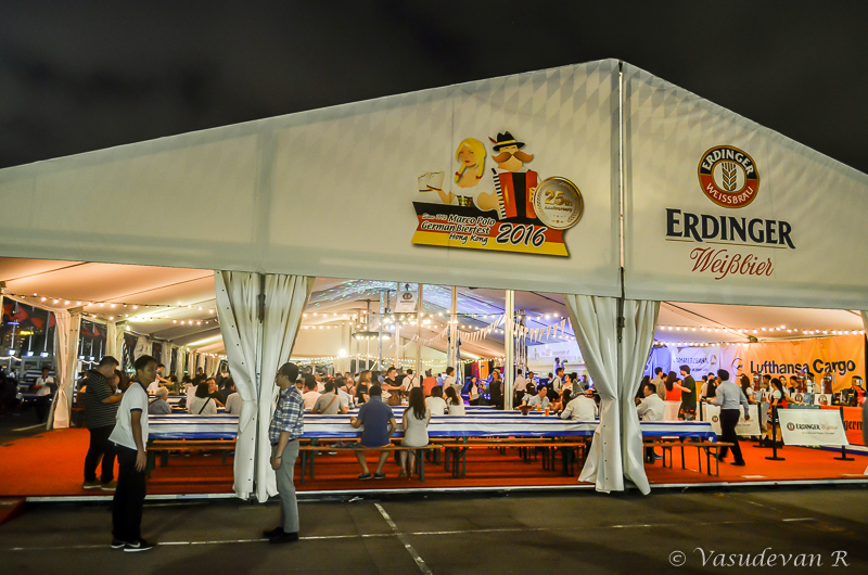 top things to do Harbour city German bierfest at Ocean Terminal Roof Top.