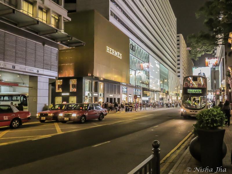 Canton Road Luxury Shopping, Hong Kong