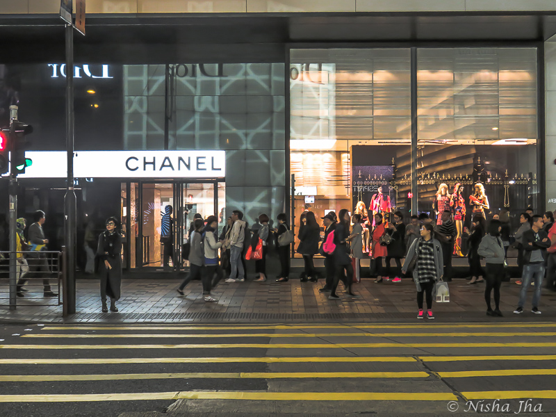 Harbour City, Canton Road Luxury Shopping, Hong Kong
