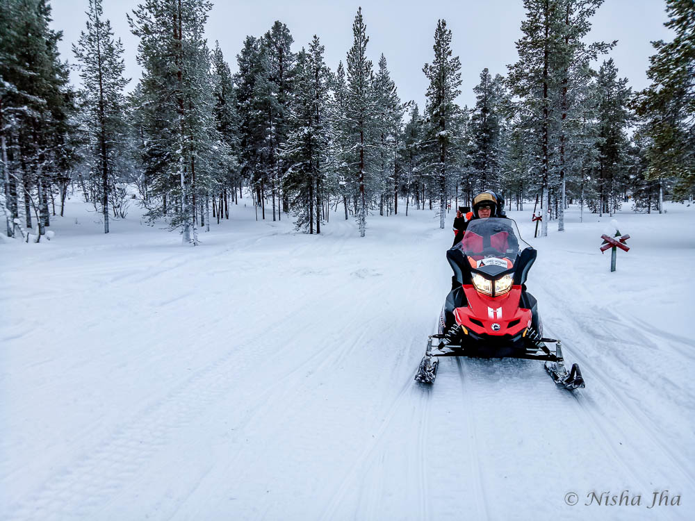 things activities saariselka lapland snowmobiling @lemonicks.com