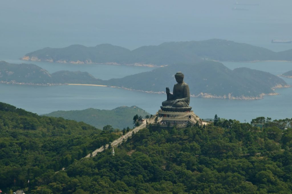 Big Buddha in Lantau Island hong kong. Pic Credit – Hong Kong Tourism Board