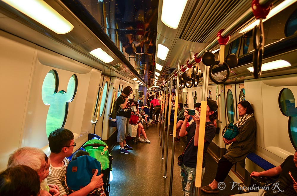 Disney Train Hong Kong