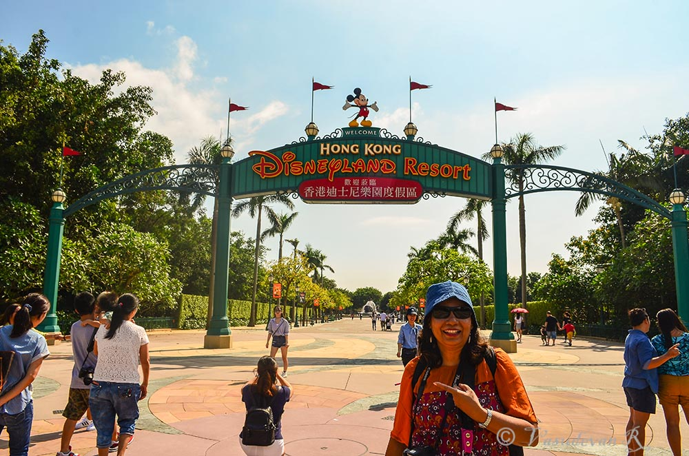 Disney Land Lantau Hong Kong