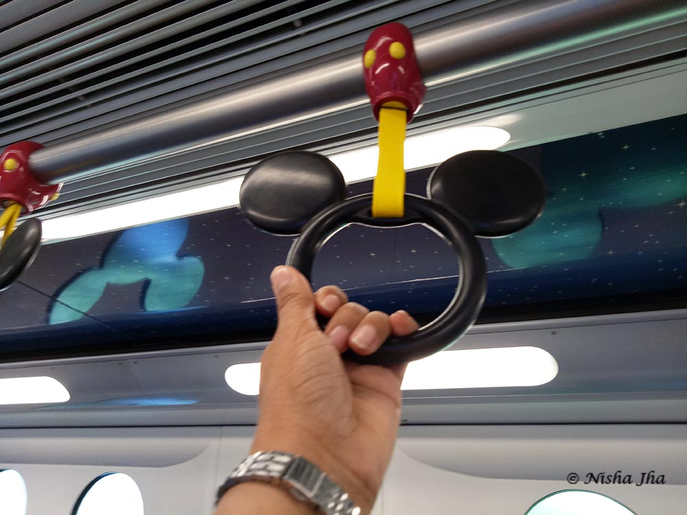 train to DisneyLand