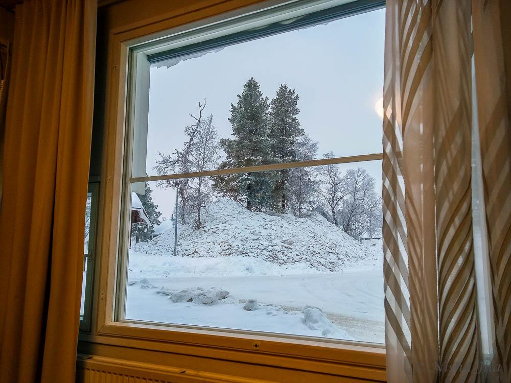 view from room holiday club resorts in finland saariselka