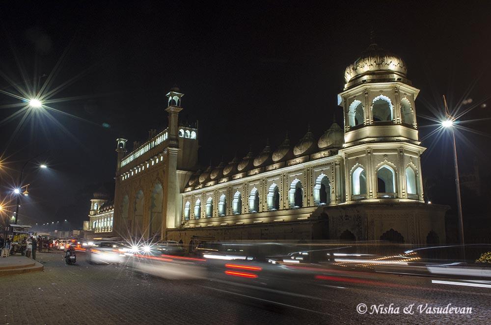 bada imambara at night lucknow lemonicks.com