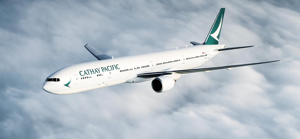 Cathay Pacific lounges and premium economy class