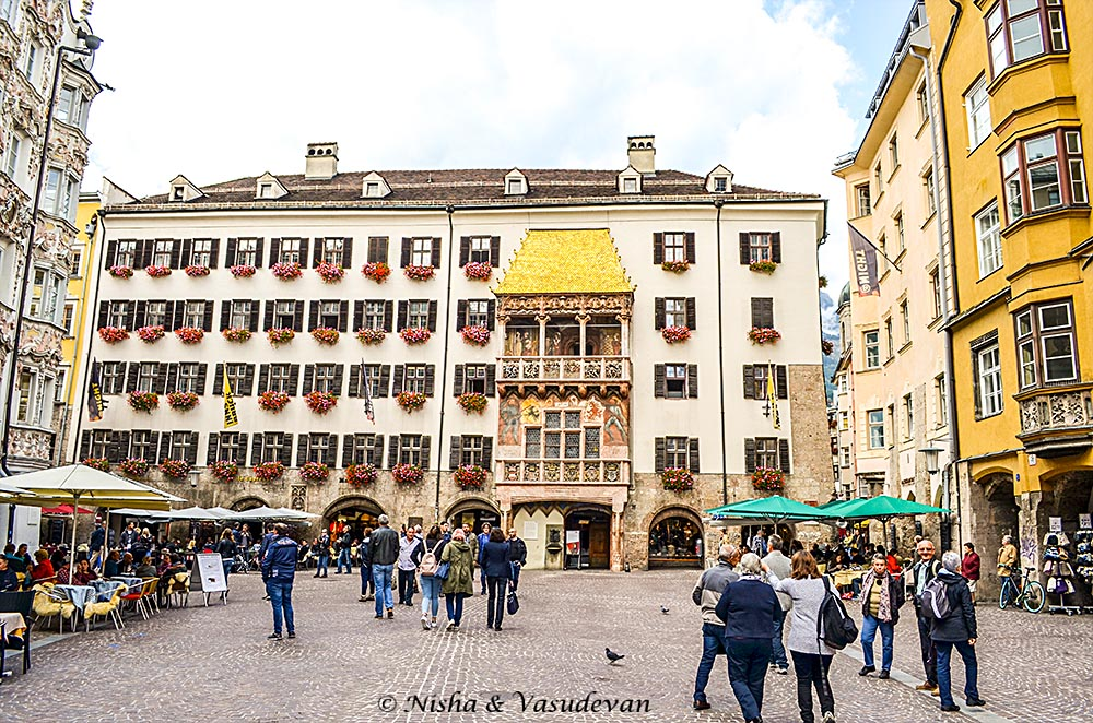 Walking Tour of Innsbruck, Austria.