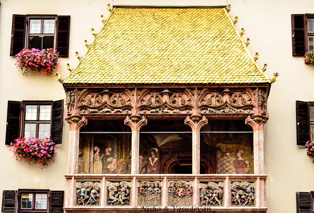 Golden Dachl, Innsbruck. things to see in innsbruck walking tour