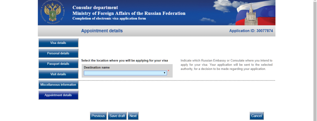 Russian Visa for Indian Nationals