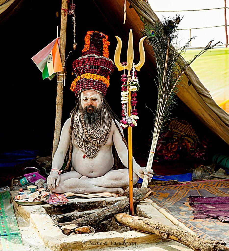 Naga Sadhus in Kumbh Mela 2019 , Prayagraj, Uttarpradesh