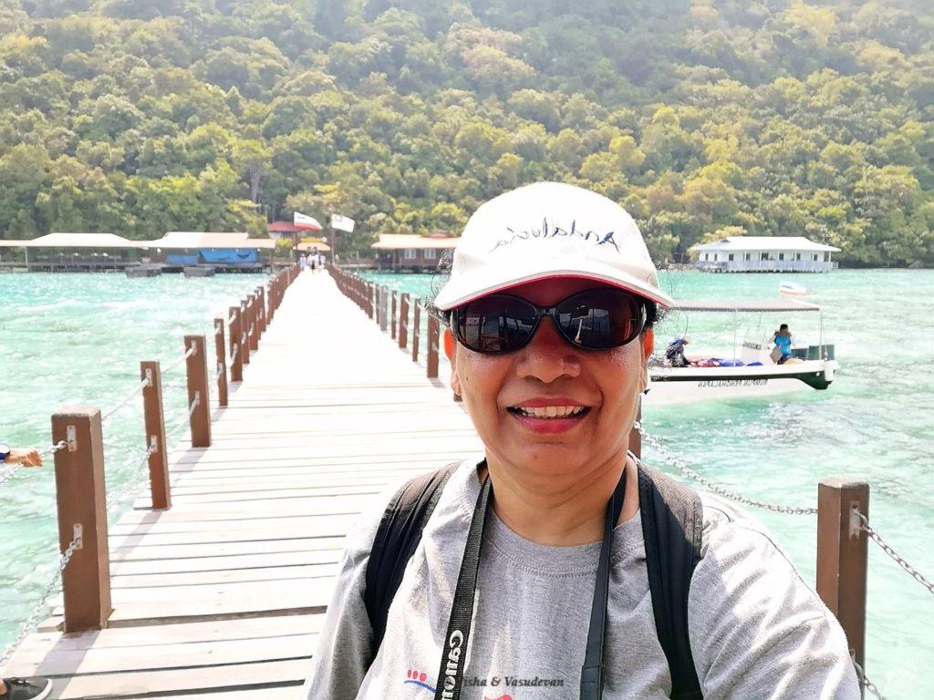 entry to bohey dulang island