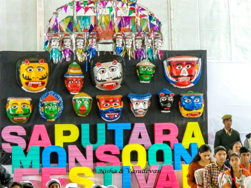 Saputara Monsoon Festival Masks